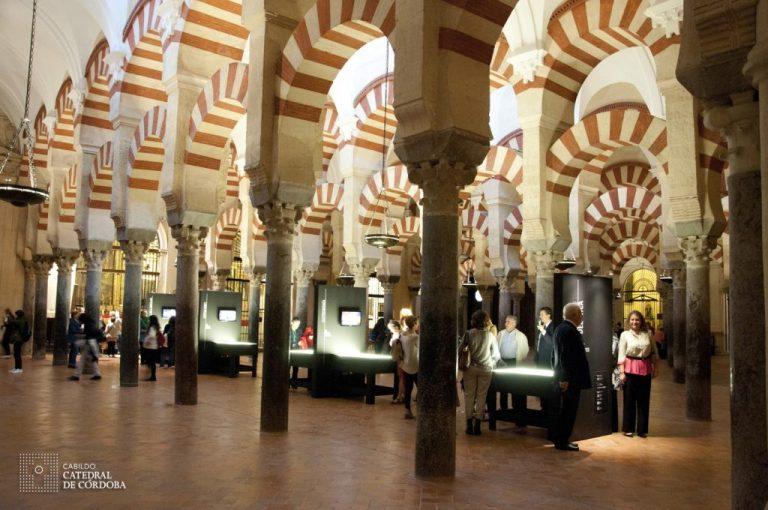 Mezquita parte interior